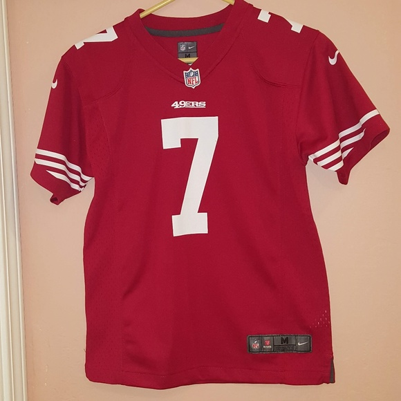 buy online bbf2d 69afd Nike NFL On field Kaepernick Jersey Youth Sz 10-12
